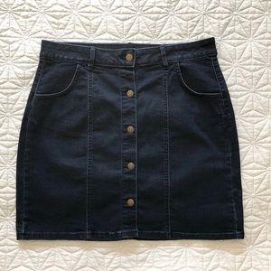Dresses & Skirts - NWOT Dark wash denim skirt